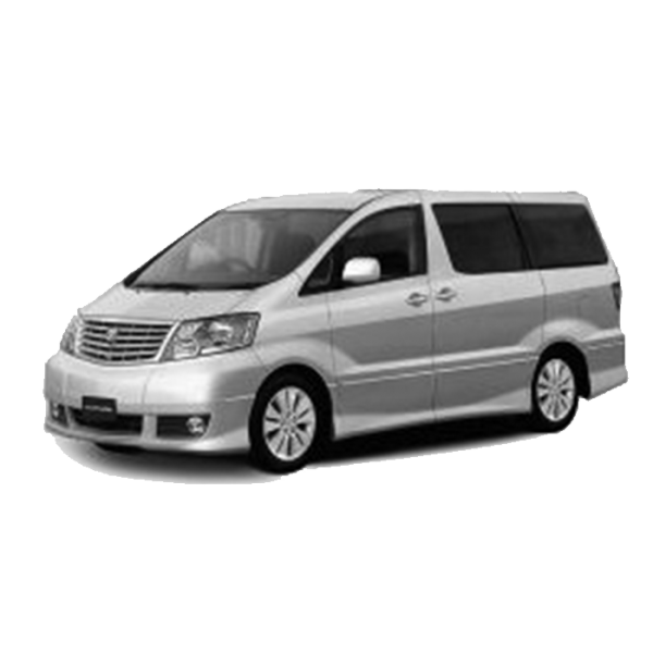 Toyota Alphard 7 Seater / 2002 - 2008 / ANH10