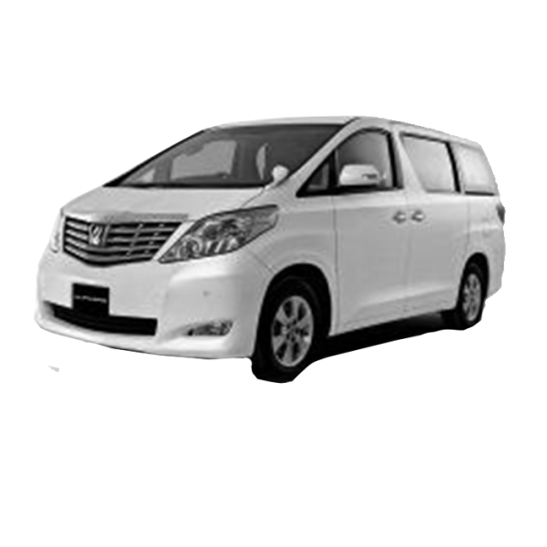 Toyota Alphard 8 Seater / 2008 - 2015 / ANH20